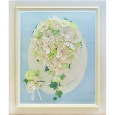 本日お客様のお手元にお届けさせていただいたブーケのご紹介です☆  ブーケや花束をお預かりして保存加工させていただく事がほとんどなのですが、コチラはイメージをご相談しながら、お花からご用意させていただいてお作りしました(*^-^*)#プルメリア のお花のご希望でした🌺  プルメリアの花言葉は『 恵まれた人・気品 』  その5枚の花びらは『ALOHA』の5文字の象徴で、ALOHAの一文字ずつにもそれぞれ意味が込められています。 【A】Akahi