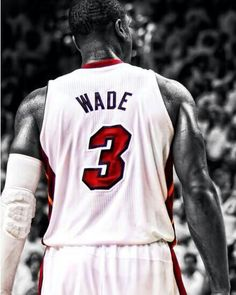 """My name is 3, NOT D-Wade."" -Dwayne Wade to the media on his no. 3 and third ring.  D-Wade is the man !!"