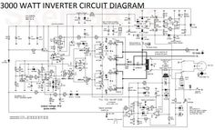 3000 Watt Inverter Circuit Diagram