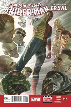 Marvel Preview Pages: Prequel Series Learning to Crawl with Amazing Spider-Man #1.5