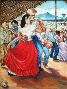 Merengue - Heart of a Nation ~ Ignacio Jose Alvarez, Puerto Rico. I kind of look like the pale woman dancing with the red skirt. If you think all Puerto Ricans are very dark skinned, you are wrong!
