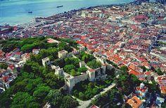 Lisboa vista aerea. Magnifica fotografia - Carlos Gil - Lisbon sky view #lisbon #lisboa