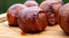 Shroomballz - This is a great appetizer or side dish everyone will love. Give it a try next time you fire up the barbecue.