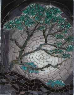 Pale Darkness   Vitreous tiles, glass, TG   Sukilopi   Flickr