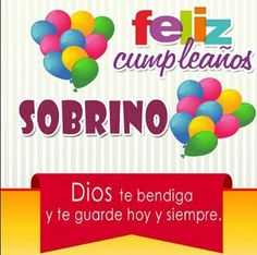 Birthday Wishes For Nephew, Happy Birthday Video, Happy Birthday Wishes, Girl Birthday, Spanish Jokes, Flower Background Wallpaper, Funny Phrases, Niece And Nephew, Faith In God