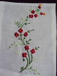 Grand Sewing Embroidery Designs At Home Ideas. Beauteous Finished Sewing Embroidery Designs At Home Ideas. Hand Embroidery Flowers, Hand Embroidery Tutorial, Hand Embroidery Stitches, Hand Embroidery Designs, Custom Embroidery, Embroidery Techniques, Ribbon Embroidery, Machine Embroidery, Embroidery Ideas