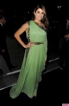 Nikki Reed is a Green Goddess at 'Breaking Dawn' Premiere   Celebuzz