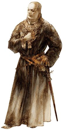 "Vagrant Story  Character Design ""Duke Bardorba""  Artwork by Akihiko Yoshida"