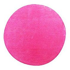 The warehouse rug for home office pops!   Maison d'Or Pinacle 85cm Circle Pink Blush  $ 69.99