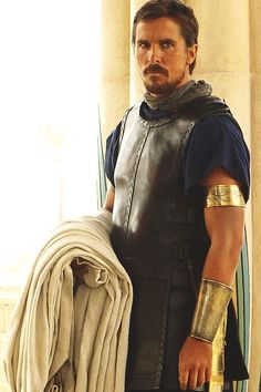 Christian Bale as Moses   (Exodus: Gods and Kings) - 2014