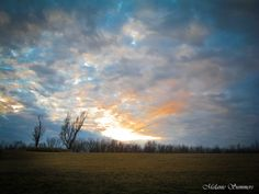 Sunset in Atchison, KS