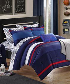 Look at this #zulilyfind! Trevor Comforter Set #zulilyfinds