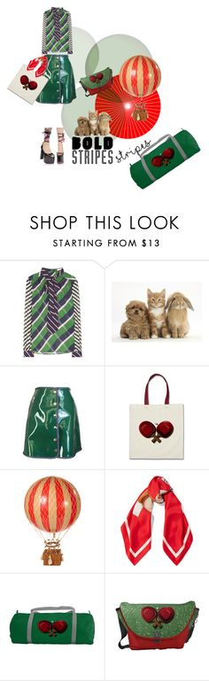 BOLD STRIPES FASHION and FUNNY BAGS by zazaofcanada on Polyvore featuring Mary Katrantzou, Iceberg, Moschino, Authentic Models and vintage   Follow me! http://zazaofcanada.com zazaofcanada.etsy.com http://www.shopzazaofcanada.com http://zazaofcanada.tumblr.com/ www.facebook.com/ZazaofCanada www.twitter.com/zazaetsy https://www.pinterest.com/zazaofcanada   Welcome to Zaza of Canada! Our vintage items are hand selected to bring you the best antique store finds, right to your door. With so many…