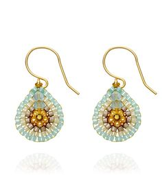 Turquoise dreams  Add a touch of colour to your outfit with these gorgeous earrings    #youandyourwedding