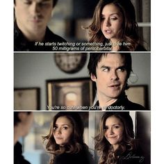 """#TVD 6x12 """"Prayer For the Dying"""" - Elena and Damon"""