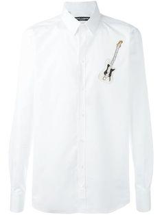 Dolce & Gabbana guitar patch shirt