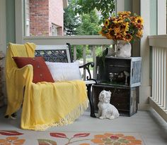 Southern Seazons: My summer front porch