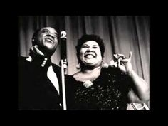 "Louis Armstrong and Velma Middleton - ""Baby, It's Cold Outside"" This duet makes me giggle everytime I hear it!!!!!! I love their witty banter during the performance. Listening to this now...finishing up my wreath!"