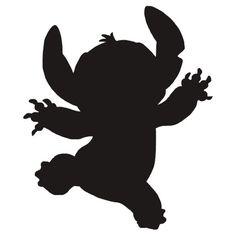 disney stitch silhouette - Google Search