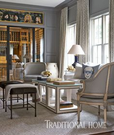 Elegant Yet Edgy Houston Home | Traditional Home