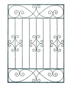 Loving this Metal Gate Wall Décor on #zulily! #zulilyfinds