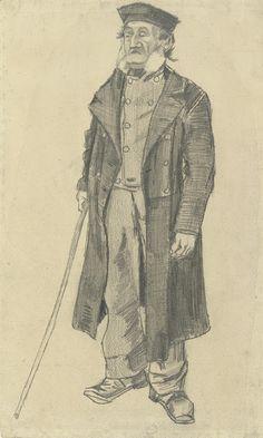 Old Man with a Stick, 1882, Vincent van Gogh, Van Gogh Museum, Amsterdam (Vincent van Gogh Foundation)