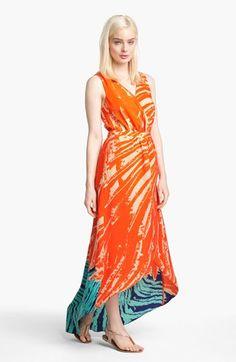 Presley Skye Print High/Low Maxi Dress | Nordstrom