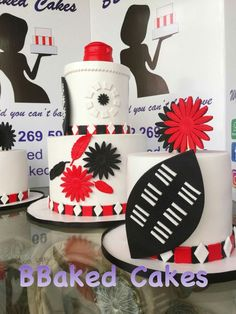 Zulu traditional wedding cake