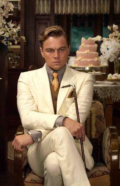Leonardo DiCaprio   The Great Gatsby   with walking stick
