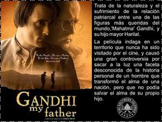 Cine Bollywood Colombia: GANDHI My father