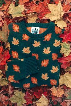 The Big Cozy Fall Leaf Sweater - winter dress winter dresses winter maxi dress knitted winter dresses knitted winter dresses knitted dresses knitted wear - Winter Dresses Stitch Fix, Look 80s, Fall Outfits, Cute Outfits, Classy Girl, Cozy Sweaters, Vintage Sweaters, Up Girl, Winter Looks