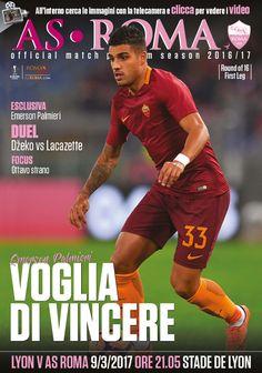 Prontia Lione-Roma? Avviciniamoci al match attraverso i contenuti del nostro match program ufficiale: clicca sulla copertina per sfogliarlo gratuitamente.