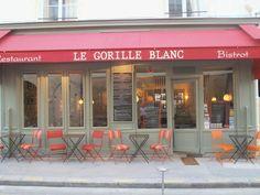Le Gorille Blanc, Paris - Notre Dame / Marais -cuisine fr SW France (quiet paris) good for quiet lunch