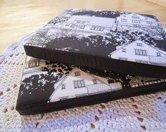 Tee-se-itse-naisen sisustusblogi: Removable And Washable Armchair Cushion Slipcovers