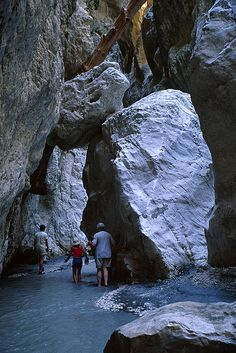 """Saklikent Gorge (Turkey) - hiking the river under the cliffs. reminds me of """"The Narrows"""" in Zion NP."""