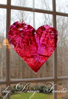 Valentine's Day... I might get crafty for the house!