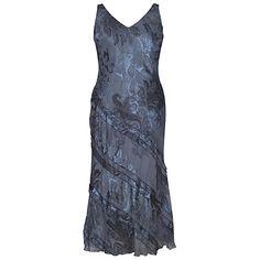 Buy Chesca Fleur De Lys Devoree Cinderella Dress, Charcoal Online at johnlewis.com