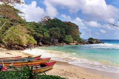Boston Bay Beach Near Port Antonio Jamaica