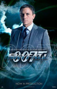 007 in. Skyfall! Love the James bond(: