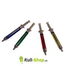 Spritze Kugelschreiber