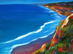 view from torrey pines - Marna Schindler