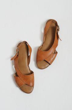 Flat Curvy Sandals —