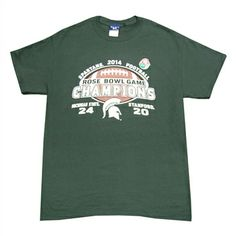 Michigan State Spartans Rose Bowl ChampionsTee