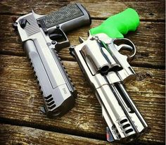 Desert eagle 50 AE + S&W 500 Magnum