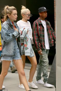 City living: The couple are in New York for fashion week