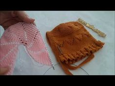Watch V, Baby Knitting, Applique, Projects To Try, Winter Hats, Crochet Hats, Quilts, Make It Yourself, Youtube