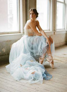 Photography: Koby Brown, Archetype - ArchetypeStudioInc.com  Read More: http://www.stylemepretty.com/2015/04/21/butterfly-ballet-boudoir-session/