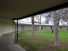 only the greatest school ever! Design Inspired by Richard J Neutra - architect