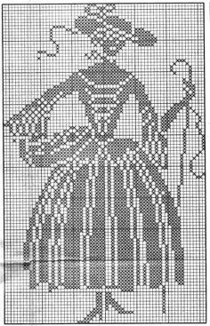 """Da revista """"Burda - filé renda e bordado"""", duas cortinas. Estes desenhos também podem ser feitos a ponto cruz.  manela"""