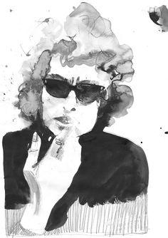 Sarah Maycock: Bob Dylan Portrait